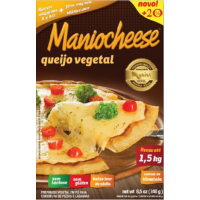 Queijo Vegetal Maniocheese: + 20% de queijo + sal do Himalaia