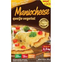 Queijo Vegetal Maniocheese: + 20% de queijo + sal do Himalaia