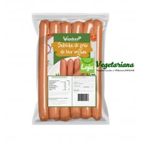 Salsicha de grão de bico vegetariana (400g)
